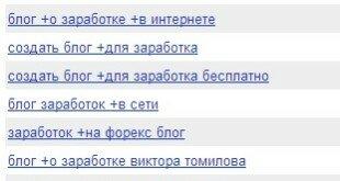Статистика поисковых запросов Яндекса и Google