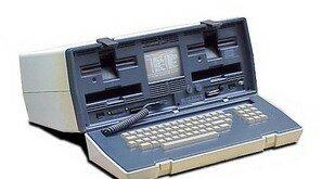 Самый первый ноутбук в мире. Фото